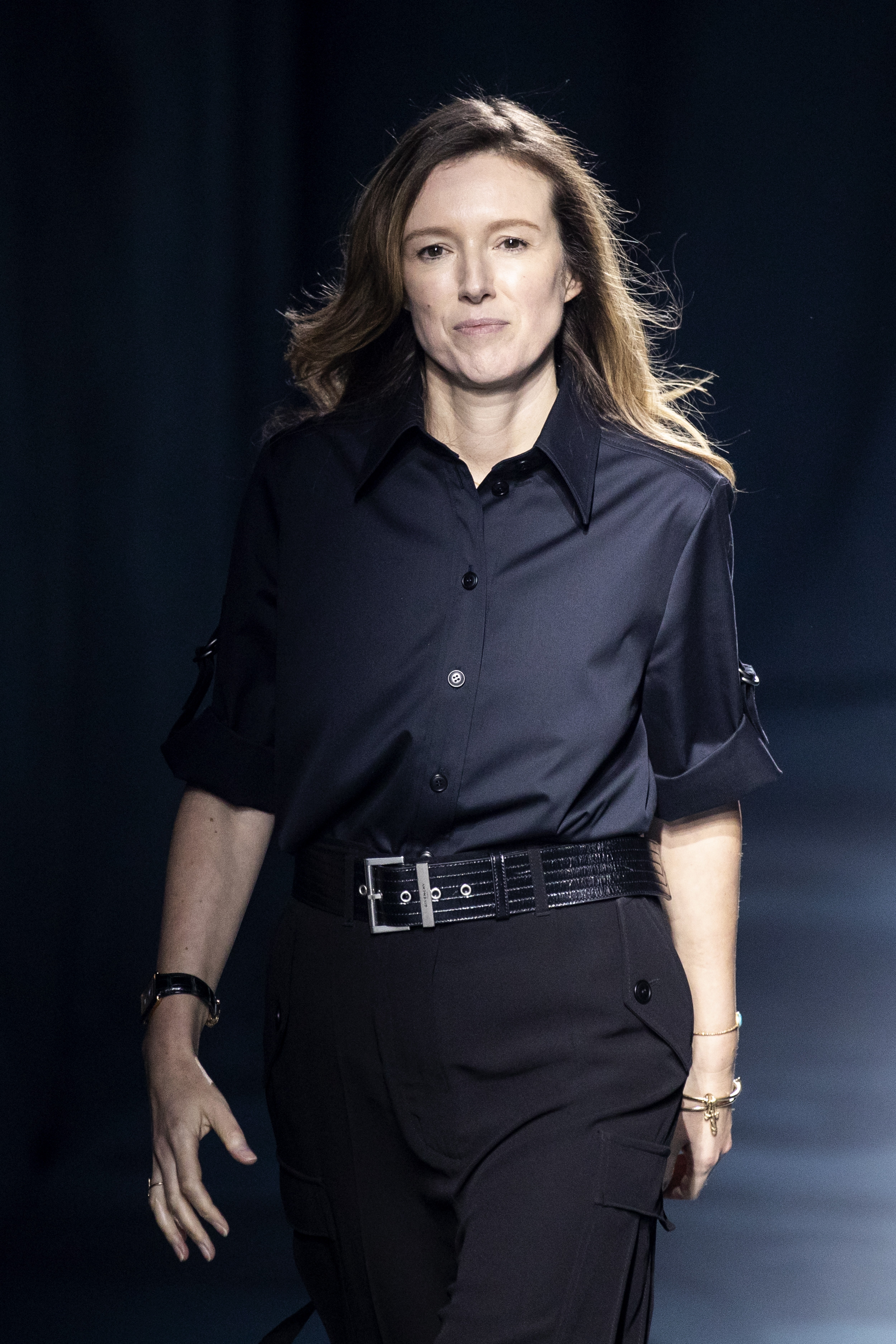 fca7825f526984 After Meghan Markle's royal wedding ... Givenchy designer Clare Waight  Keller's boyish 'tuxedo' show cuts a dash in Paris | South China Morning  Post