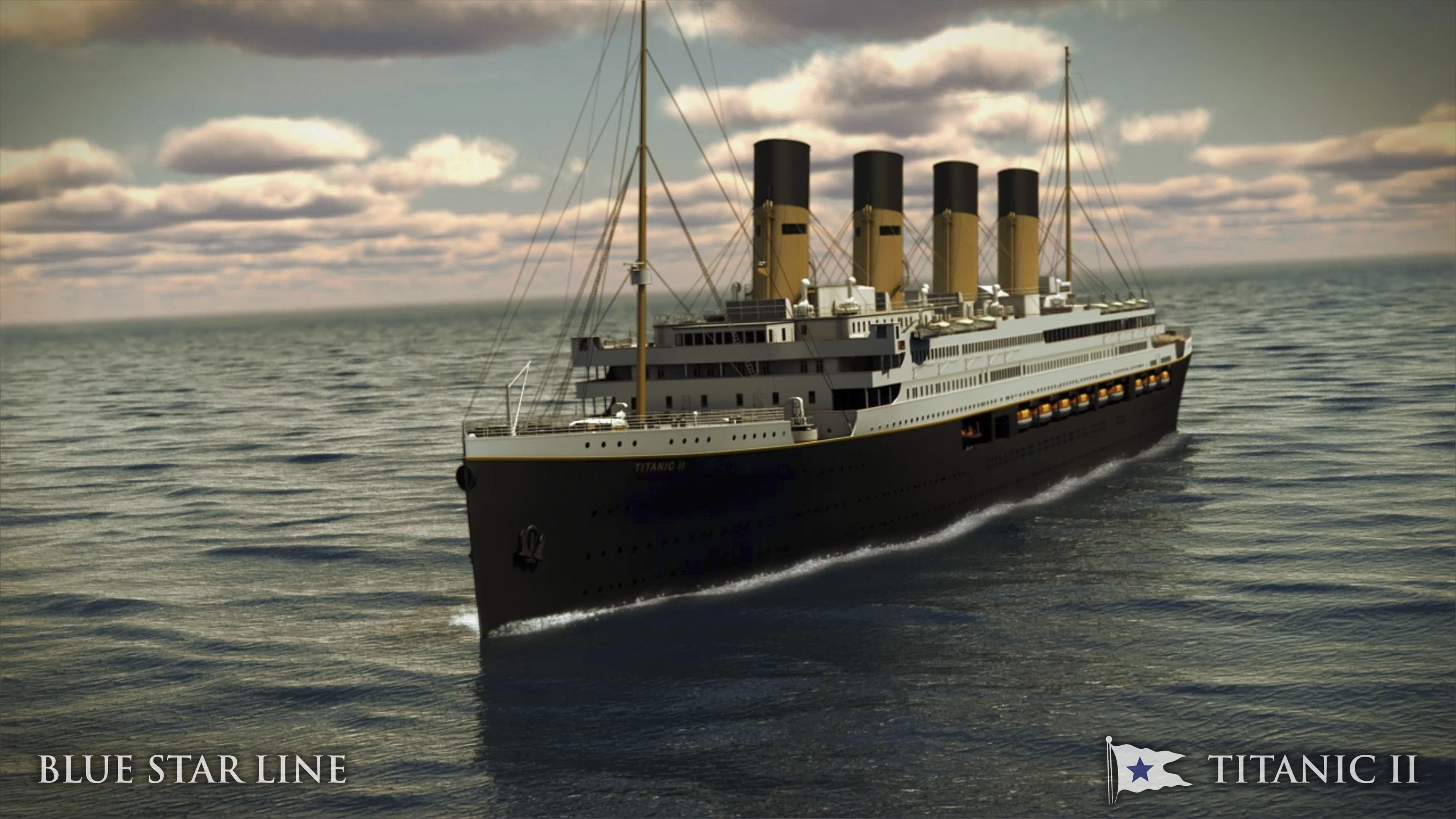 Titanic II resumes construction in China, plans to finally set sail