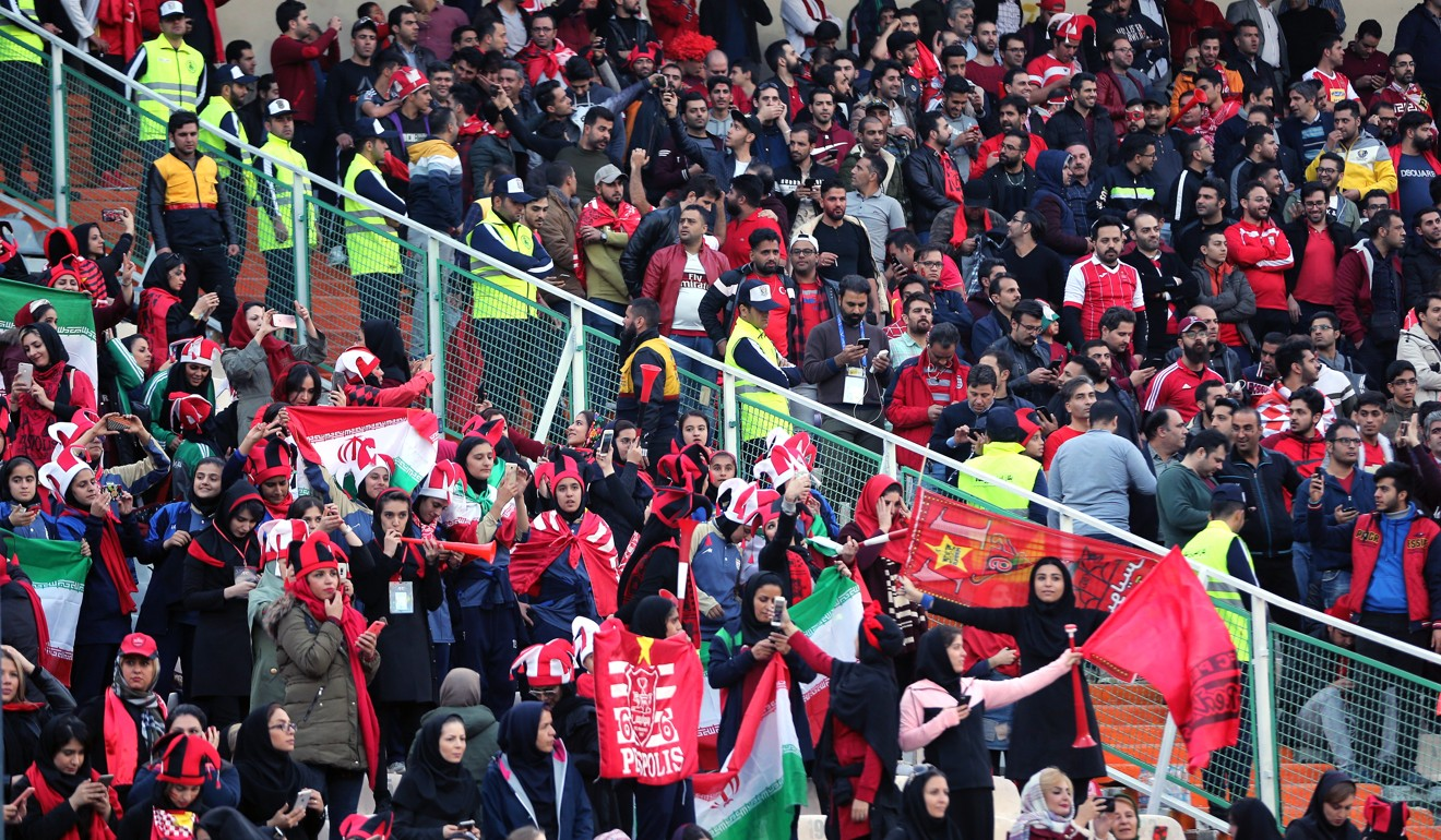 e83c4e8d8 Iranian women winners at Asian Champions League match – and they didn t  even step on the pitch