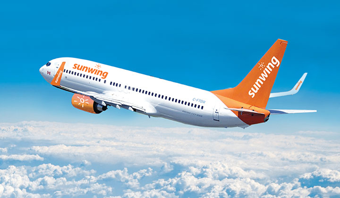 catastrophe averted canadian sunwing boeing 737 from belfast could