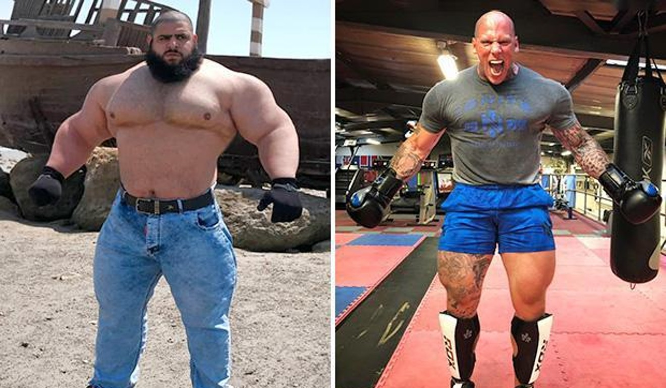 Martyn Ford Vs Iranian Hulk Scariest Man On The Planet