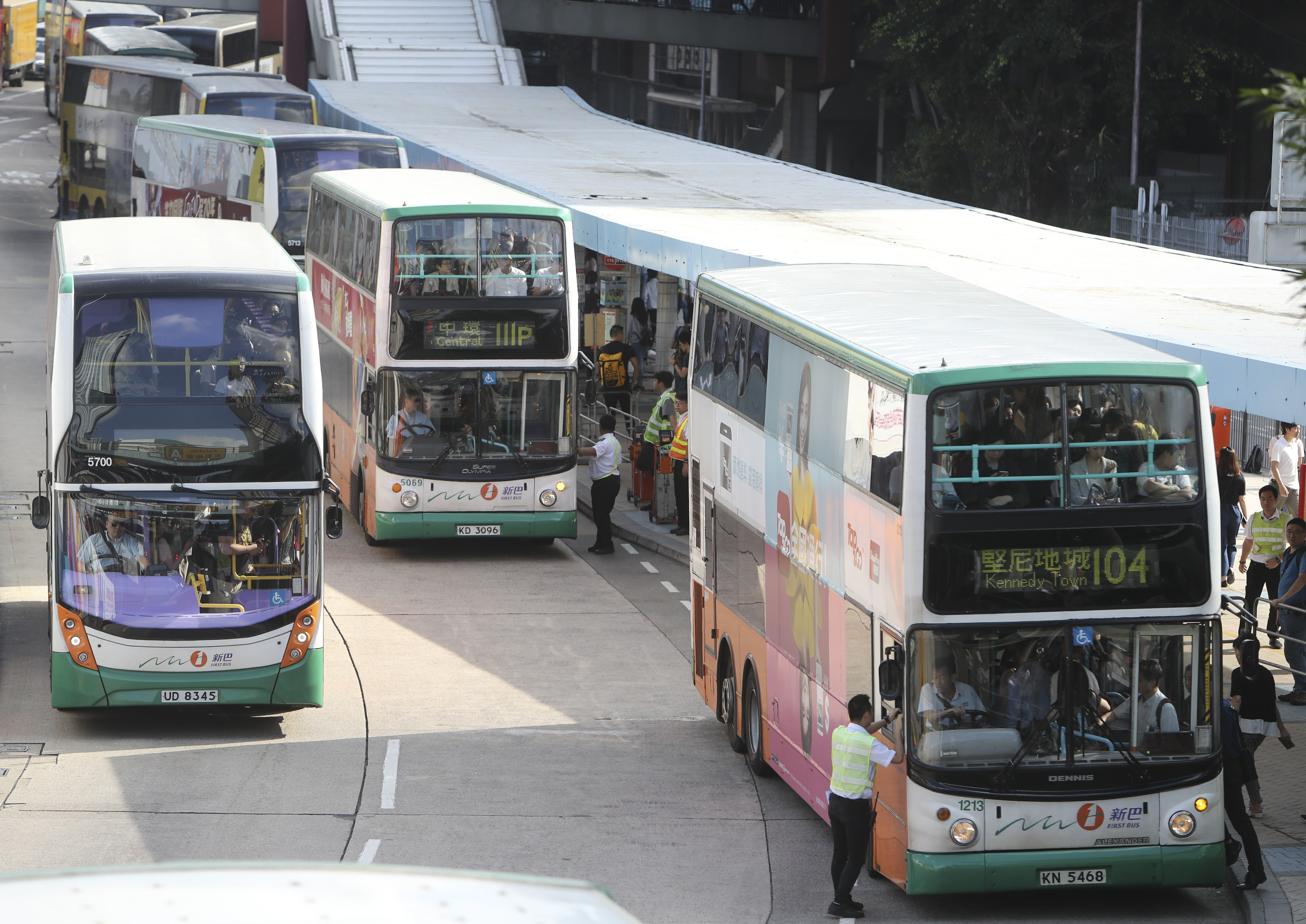 Bus Fares In Hong Kong To Go Up As Much As 7 Per Cent After Government Approves Increase For Citybus And New World First Bus South China Morning Post