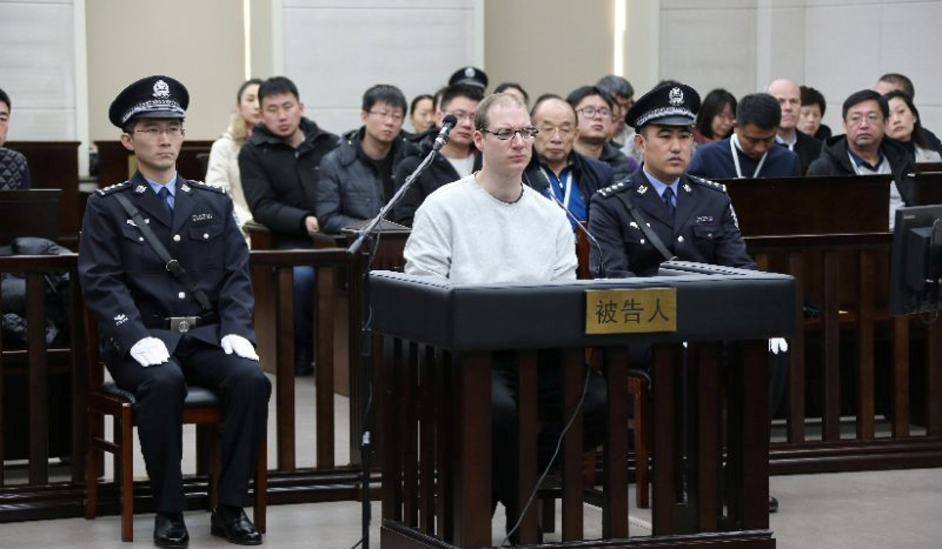 Robert Lloyd Schellenberg was sentenced to death on Monday. Photo: Reuters