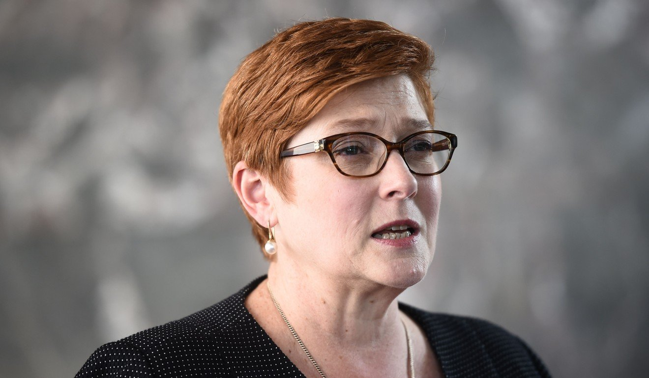 Australian Foreign Minister Marise Payne has played down concerns that the Huang case will affect relations with Beijing. Photo: AFP