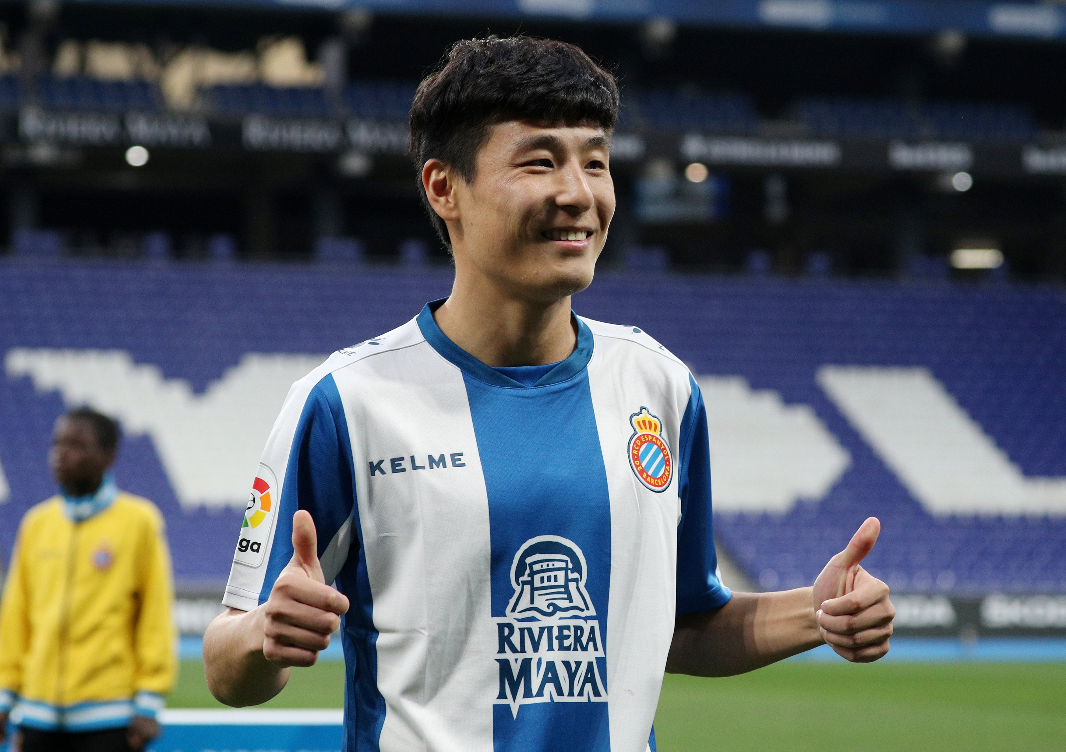 154574c48 Wu Lei s Espanyol debut attracts 40 million viewers in China – despite  striker playing just 12 minutes