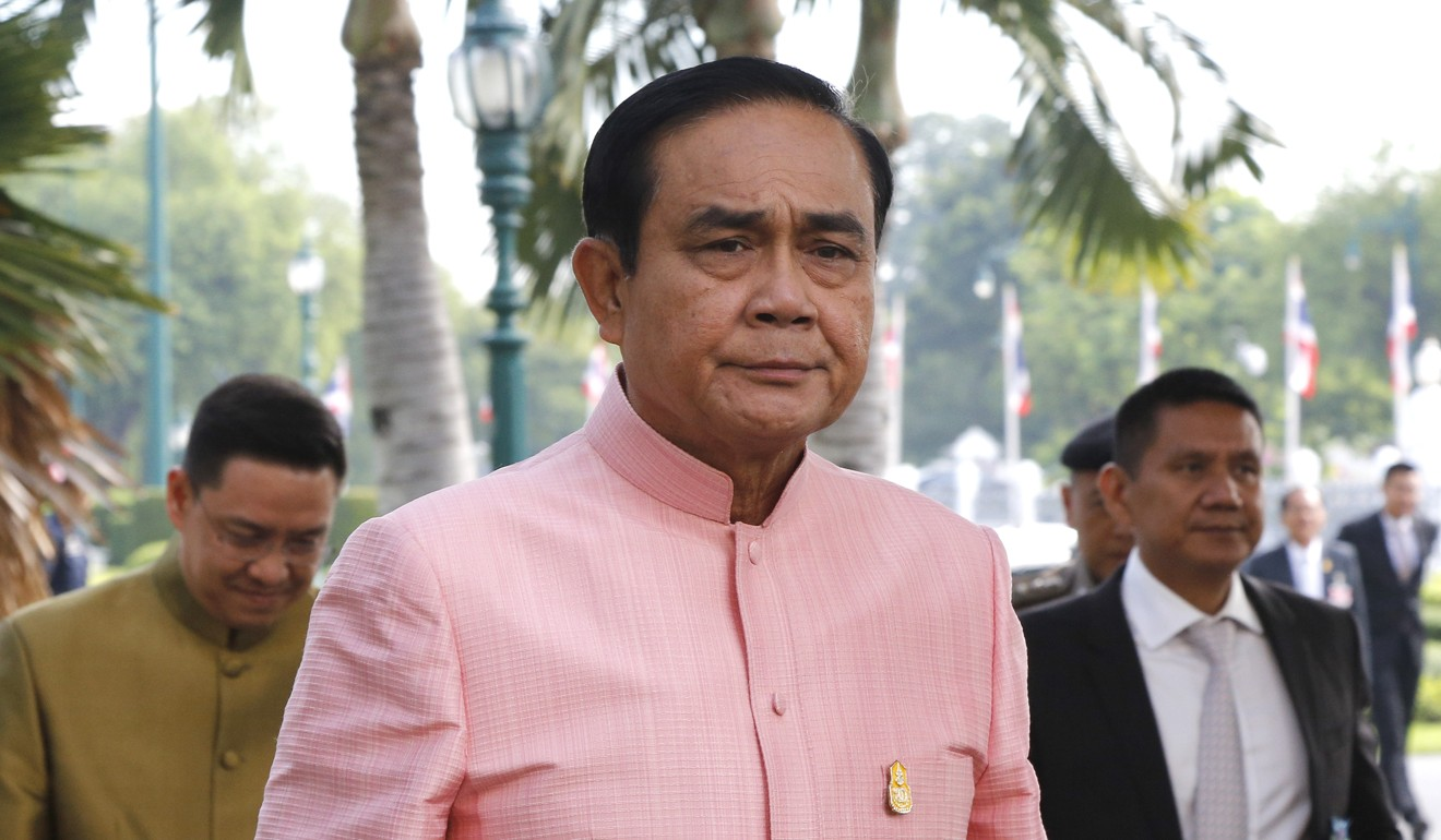 The favourite: career soldier Prayuth Chan-ocha. Photo: EPA