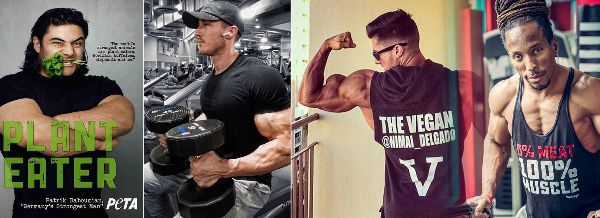 377f24d2 3 vegan bodybuilders show you that you can still beef up on a plant-based  diet