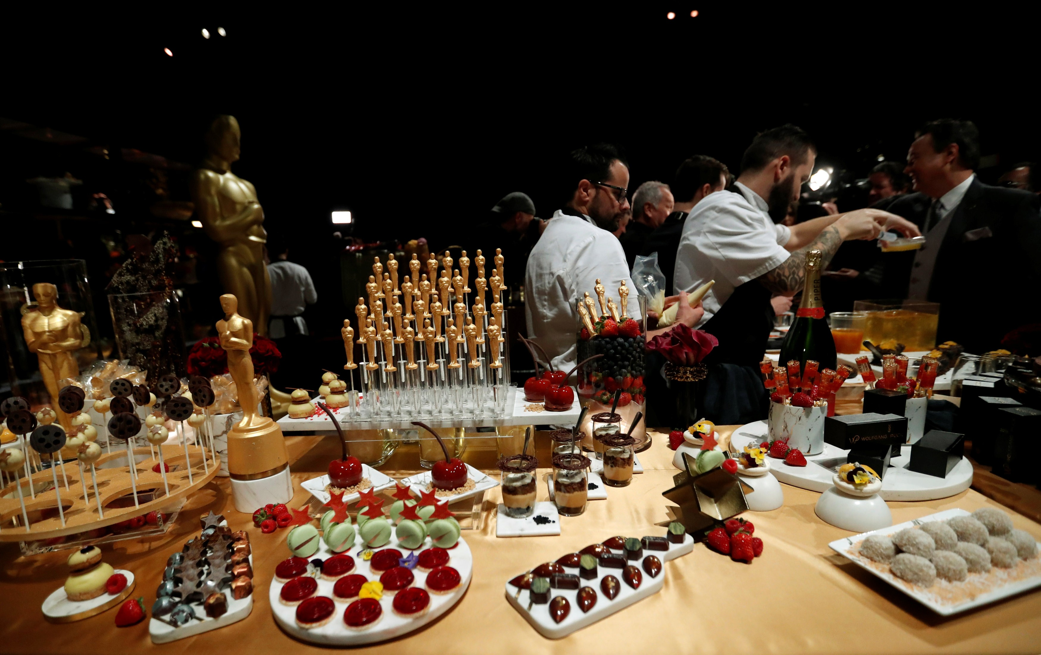 Oscars after-party – what's on the menu for the Hollywood
