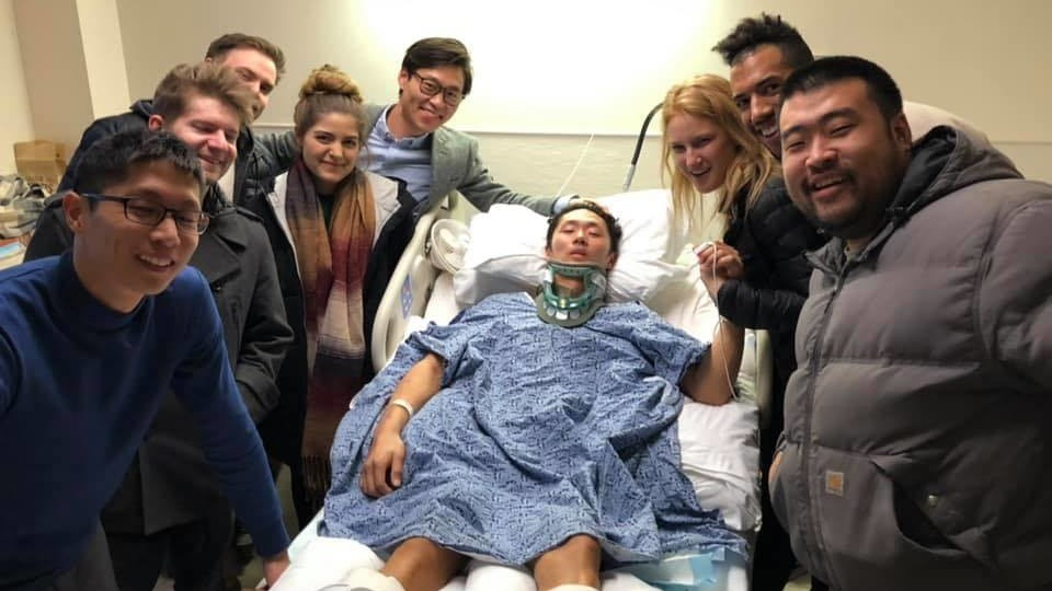 Praying for a miracle: Ex-Hong Kong gymnast Jesher Yau paralysed in US hospital after fall during routine practice