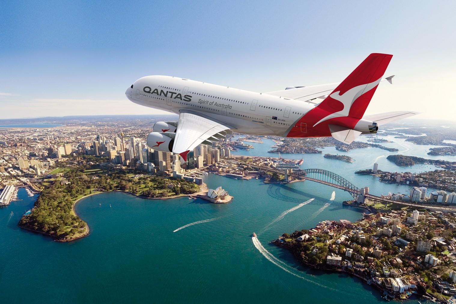 Qantas: high-flying connection between Hong Kong and