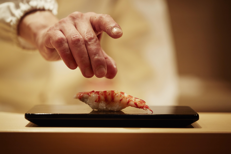 Master chefs Musashi Hiroyuki and Hiraki Masakazu talk sushi