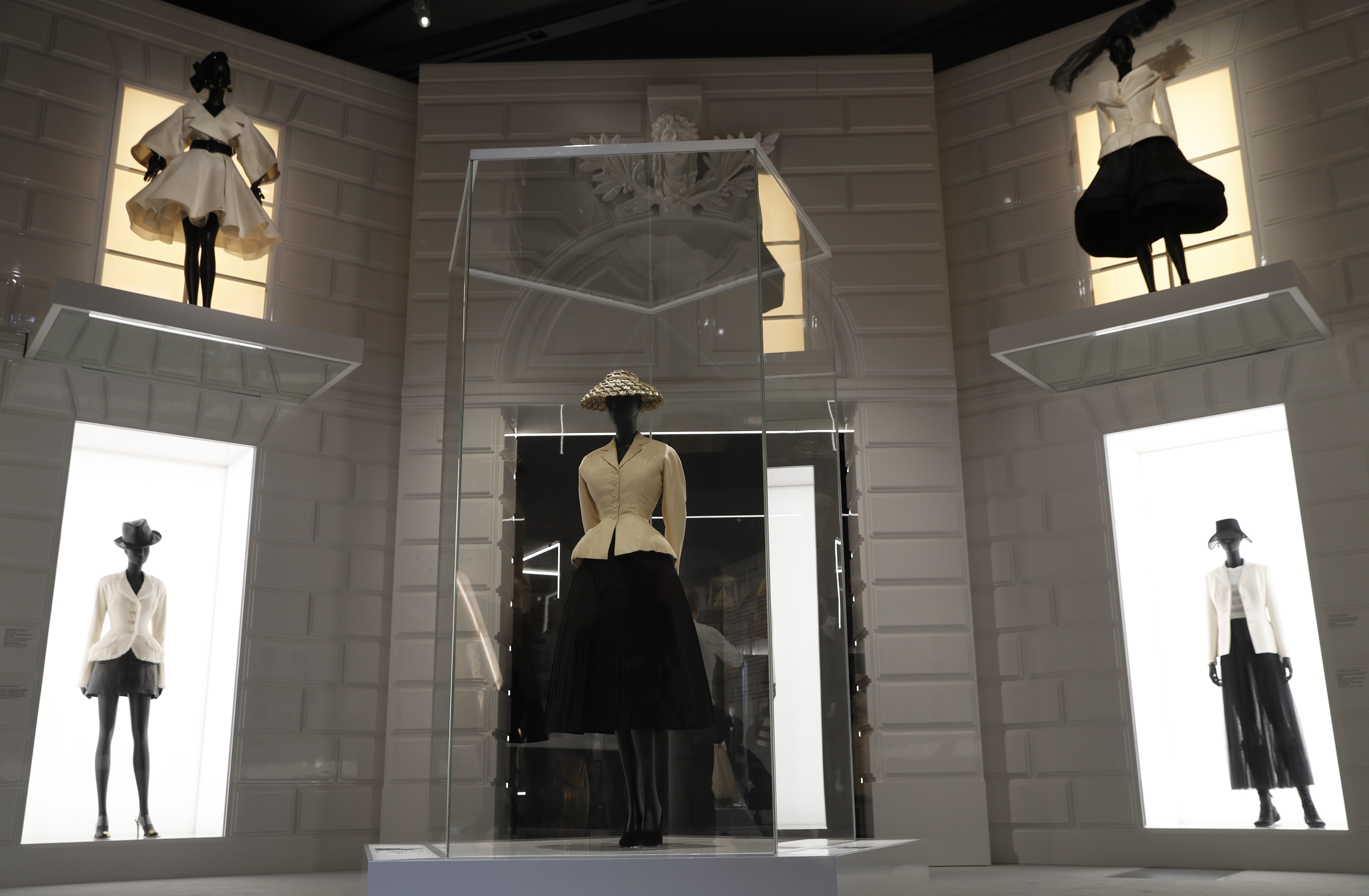 87e240df52a Christian Dior s  Designer of Dreams  exhibition takes viewers on nostalgic  journey back in time