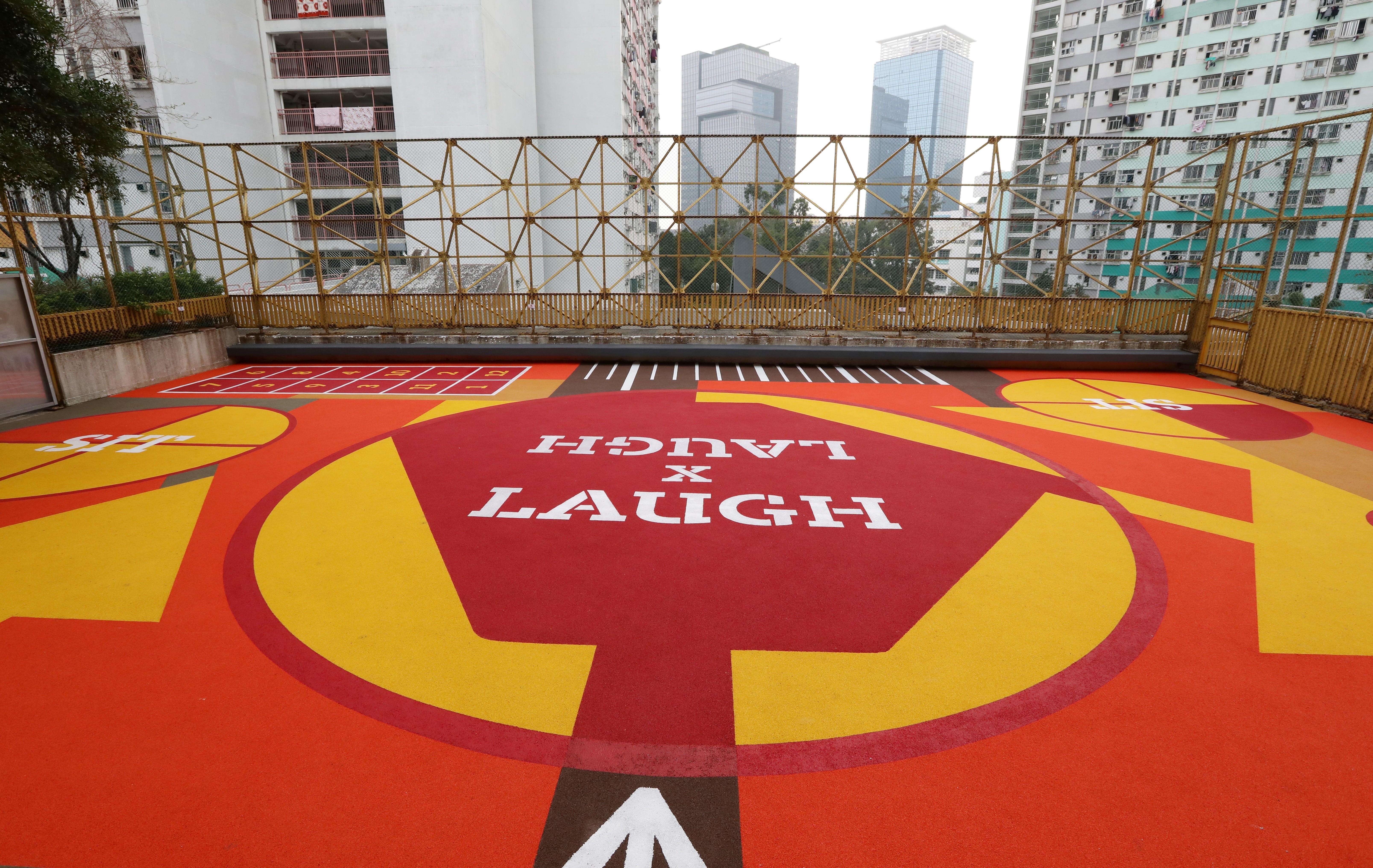 Reborn Hong Kong recreation ground in Kwun Tong draws sports