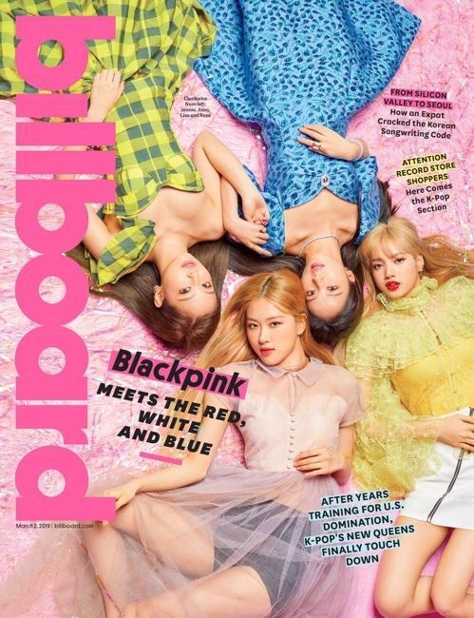 665ee2c507 'Billboard' embraces BLACKPINK as its first Korean cover girls   South  China Morning Post