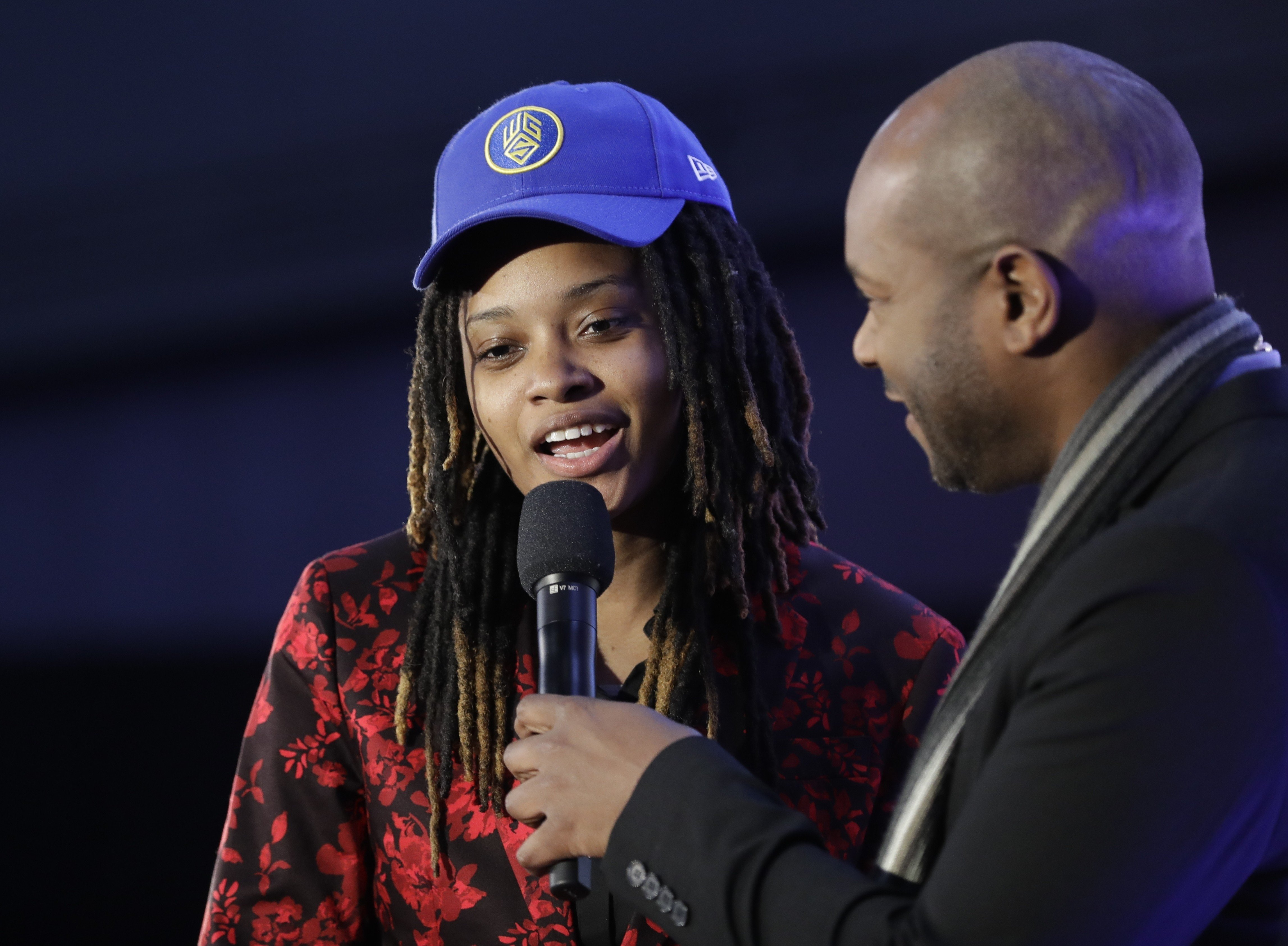 eff56b39ea4 First female NBA 2K pro drafted – Chiquita Evans joins Golden State  Warriors e-sports team and hopes to play against Steph Curry