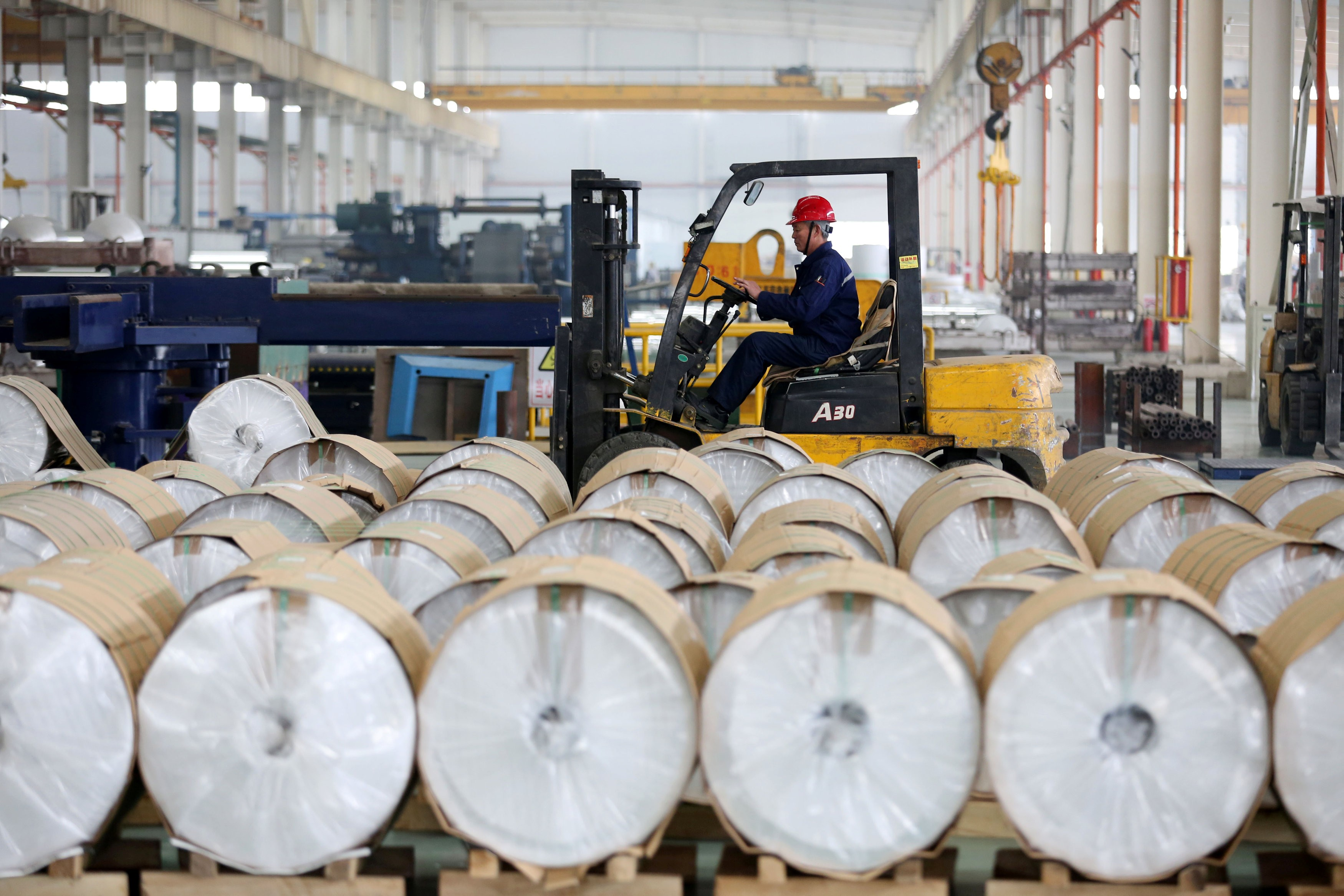 China's producer price index holds steady in February as