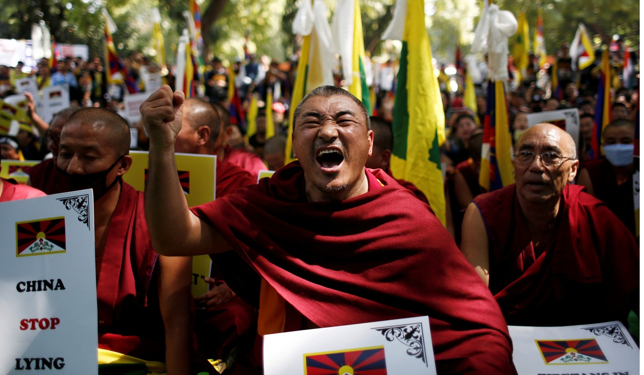 "Chinese state media said Beijing had presided over ""democratic reform"" and ""unprecedented human rights"" in Tibet. Photo: Reuters"