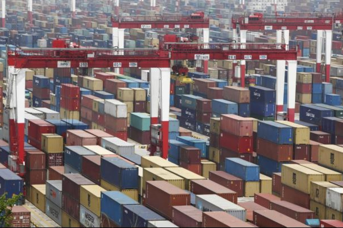 Shanghai Port Hits New Container Volume High South China Morning Post