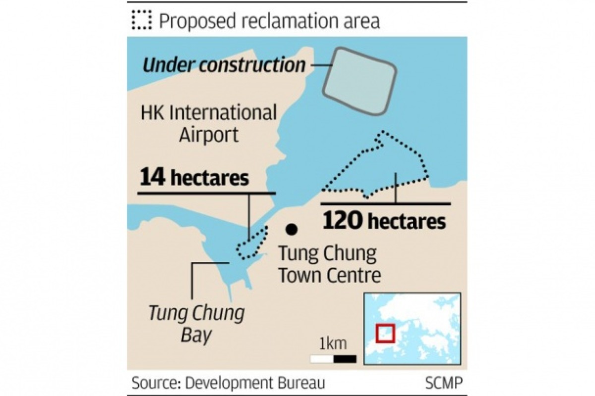 Tung Chung expansion scheme unveiled, raising reclamation