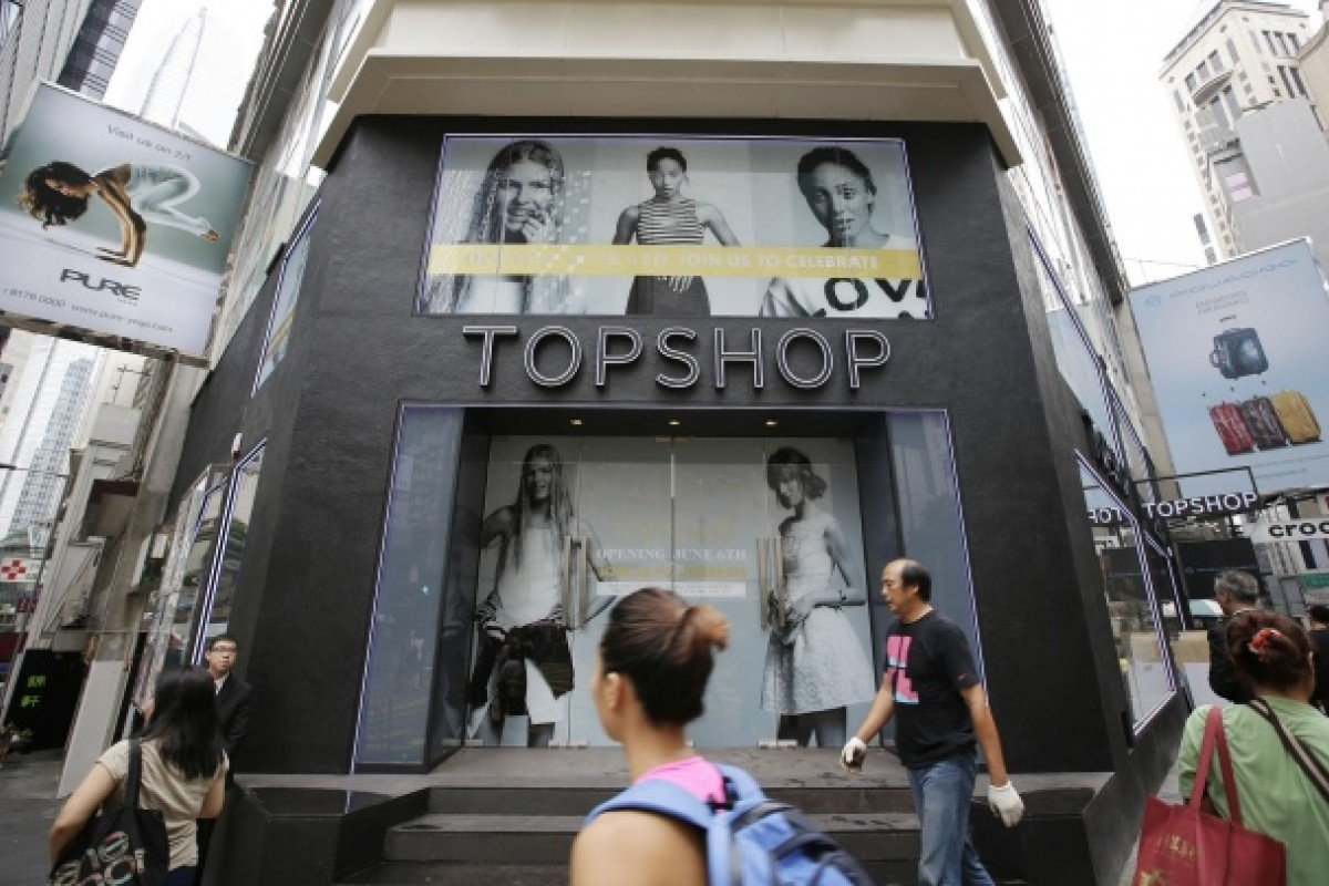 0192f27fa351 Topshop takes first step into China with new Hong Kong flagship ...