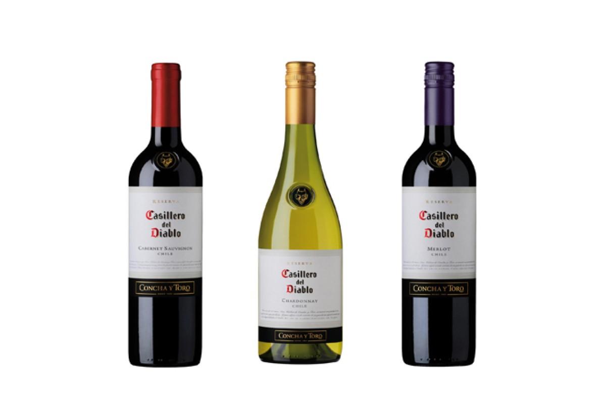 Wine Tasting Casillero Del Diablo From Concha Y Toro In