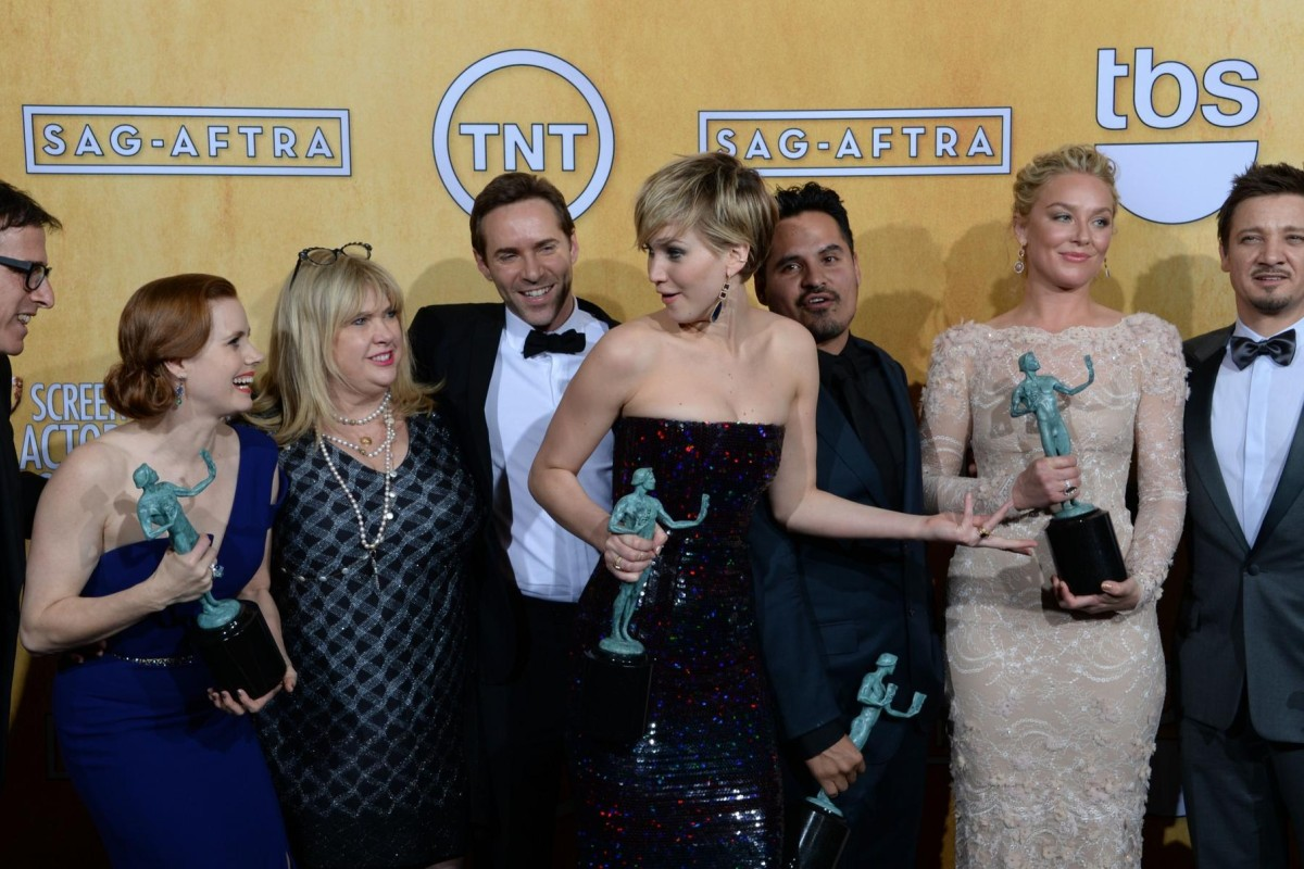 American Hustle tipped for Oscars glory after SAG Awards success