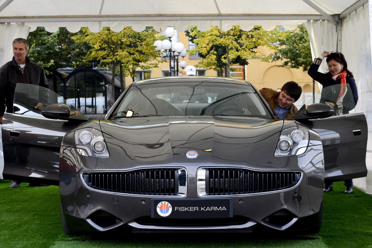 Fisker to transform hybrid Karma into petrol-guzzling V8