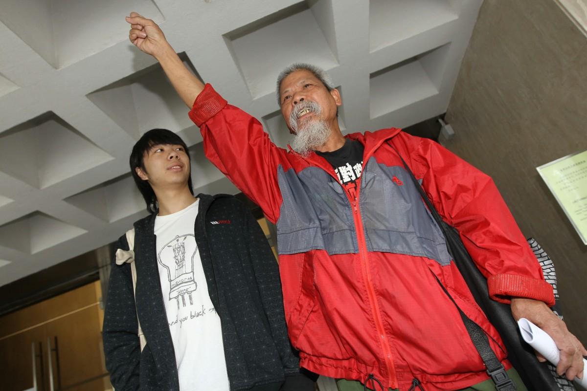 73587e531512f Flag-burning activists' sentence reduced   South China Morning Post