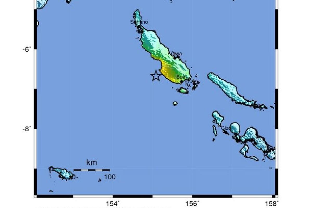 6 9-magnitude earthquake hits off Papua New Guinea's