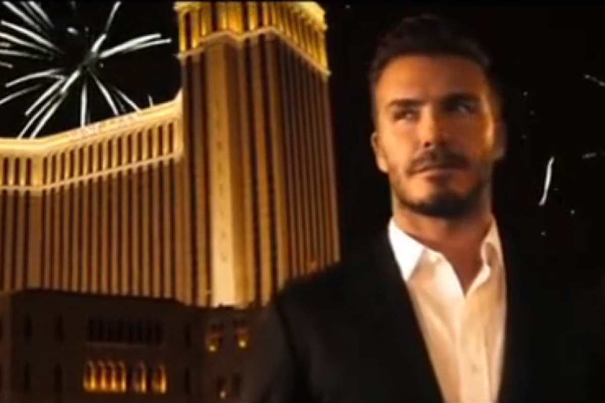 Venetian Macao Overcomes Technical Issues To Launch David Beckham