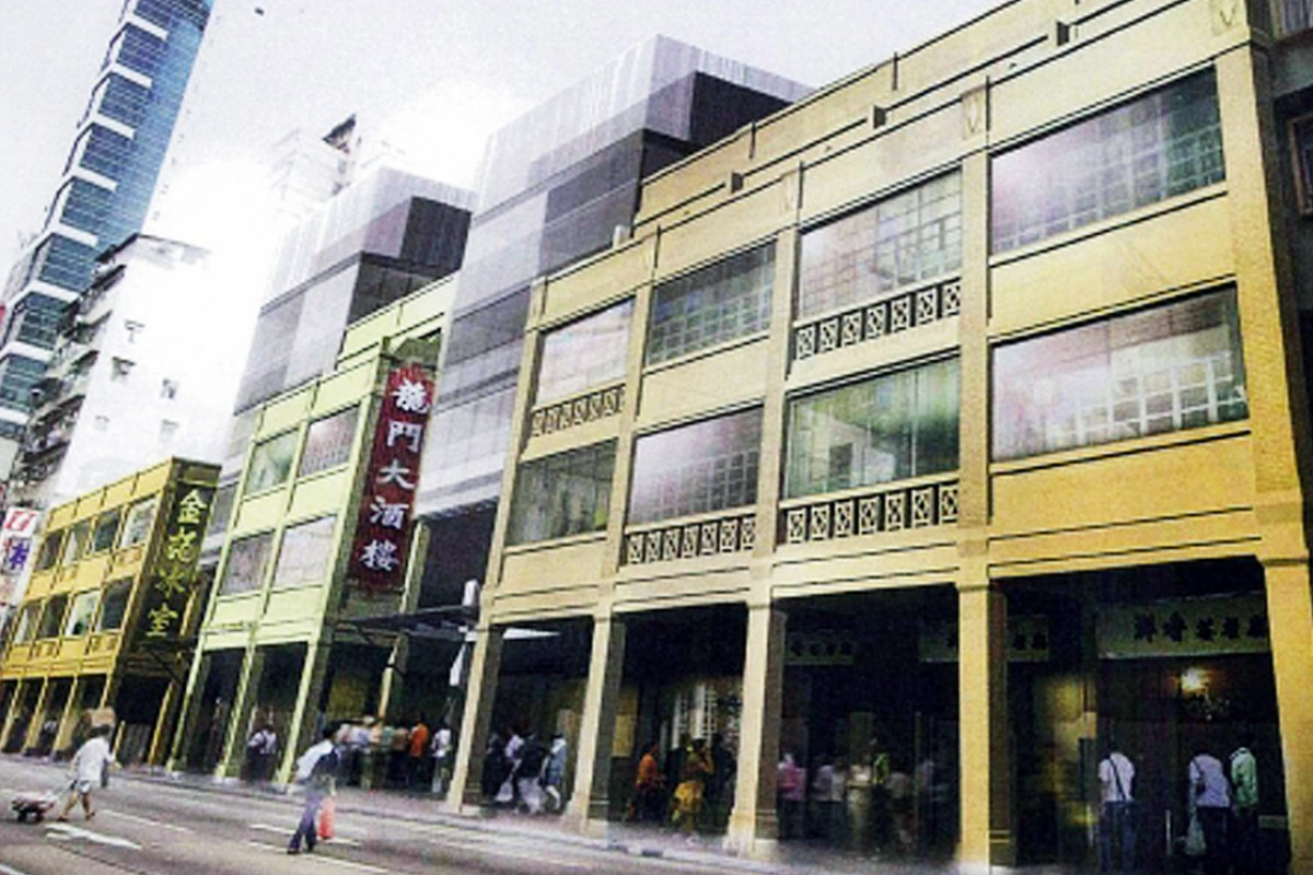 An artists impression of how the buildings are expected to look when the refurbishment work is