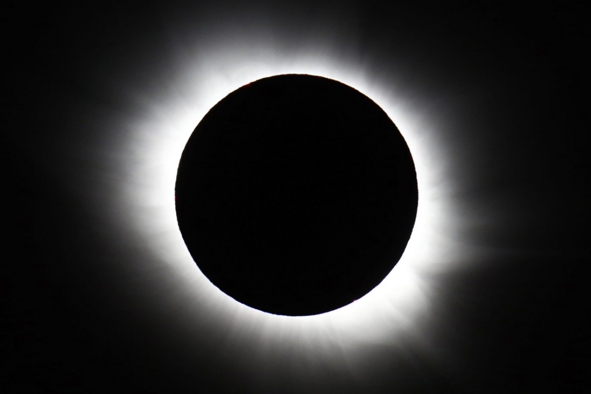 4970043a40934 Spectacular photographs of rare solar eclipse from around the world ...