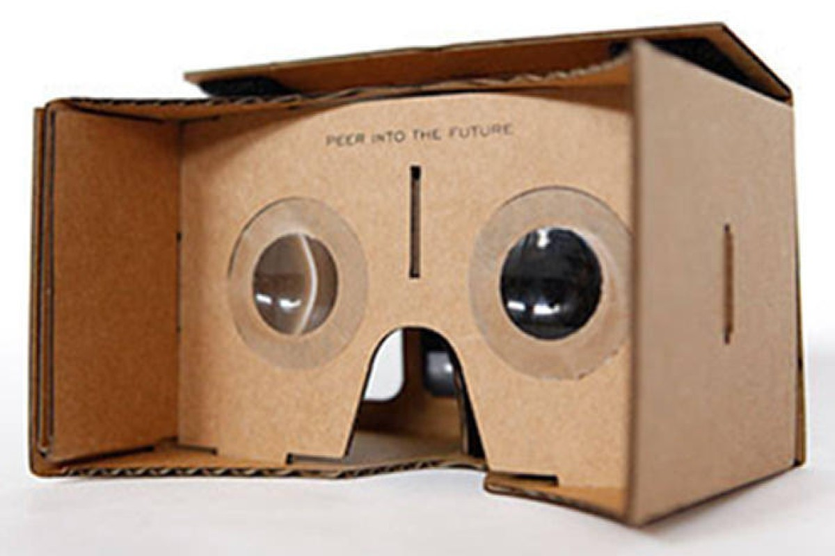 b833042a059 Google s cardboard virtual headset becomes huge hit ... and it only ...