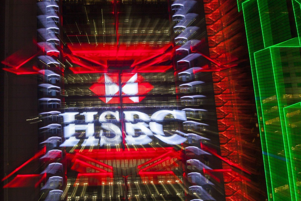 HSBC shares at lowest in 6 weeks by midday after report bank
