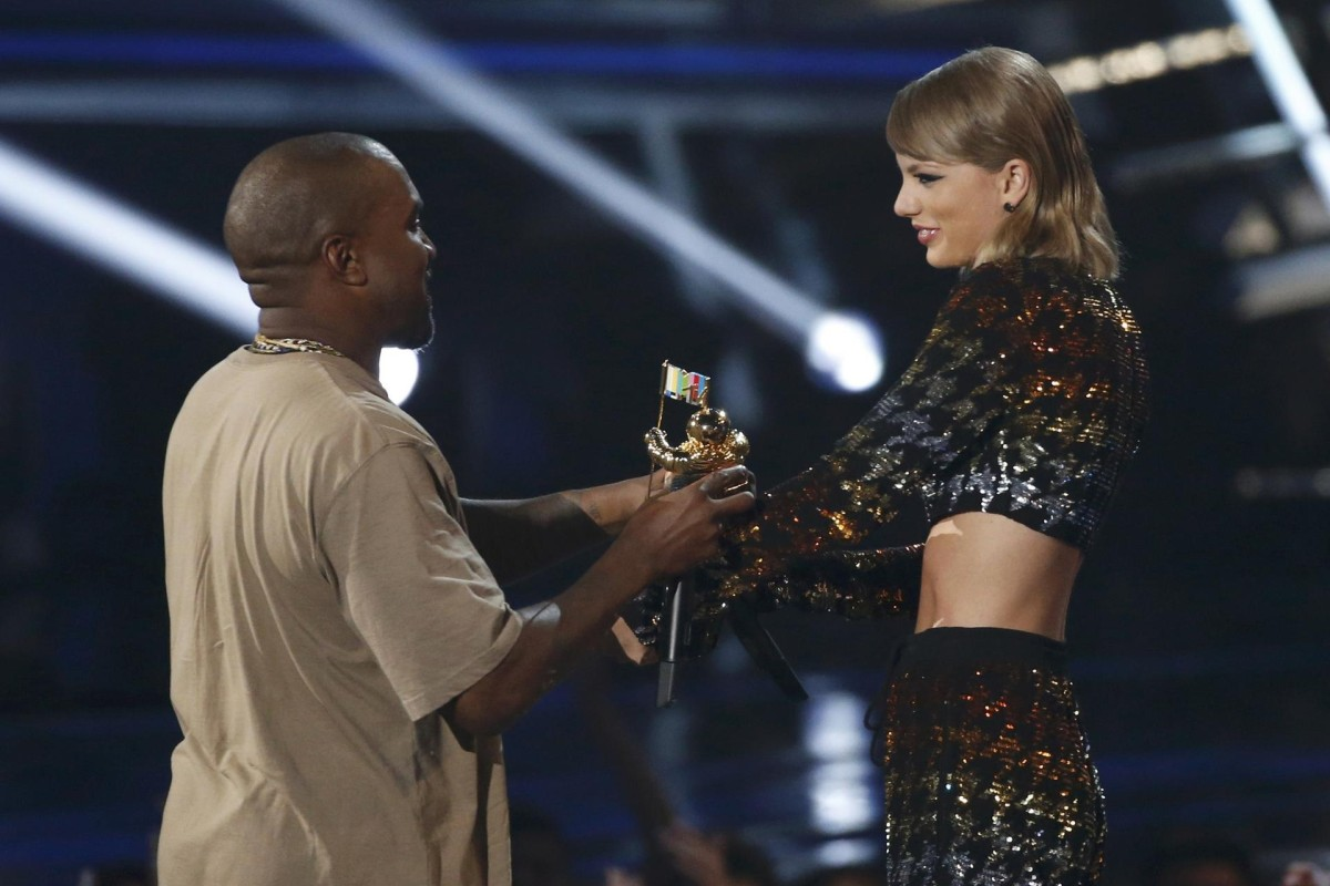 Taylor Swift And Kanye West Reunion Steals The Show At Mtv Awards South China Morning Post