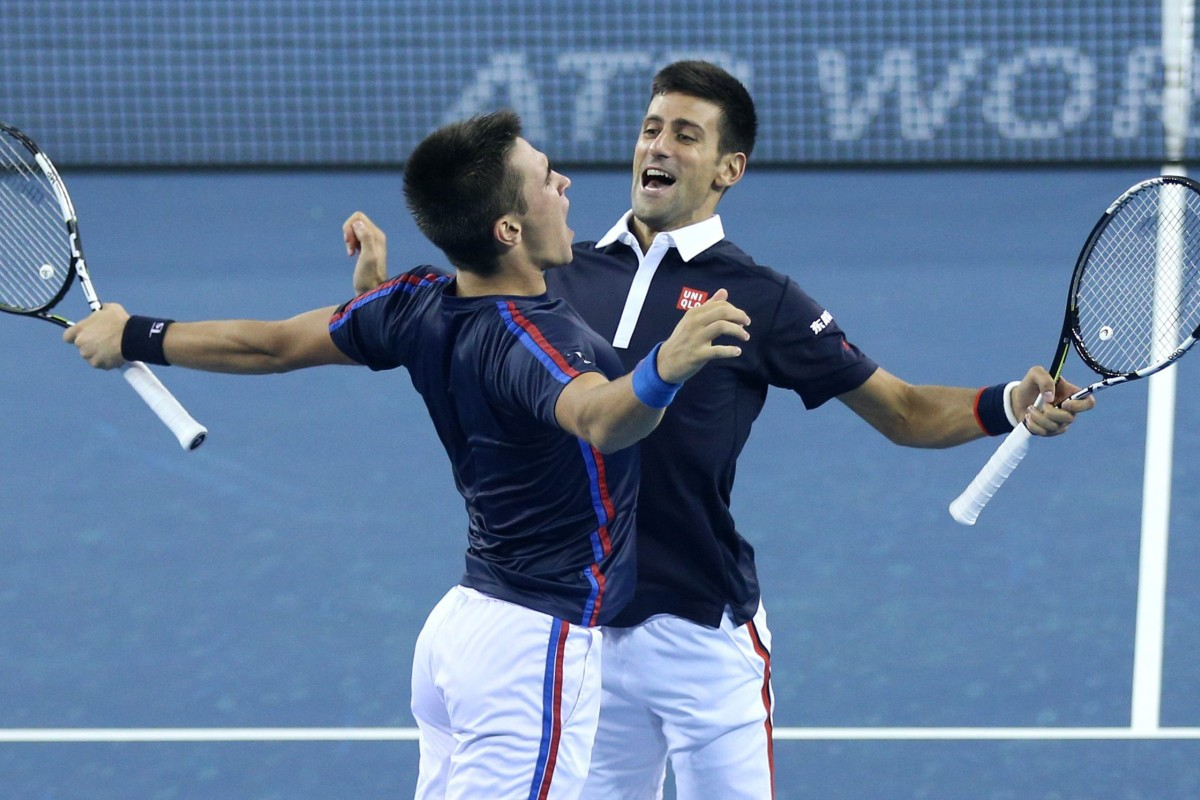 It S Doubles Happiness Novak Djokovic Teams Up With Younger Brother For First Time At China Open South China Morning Post
