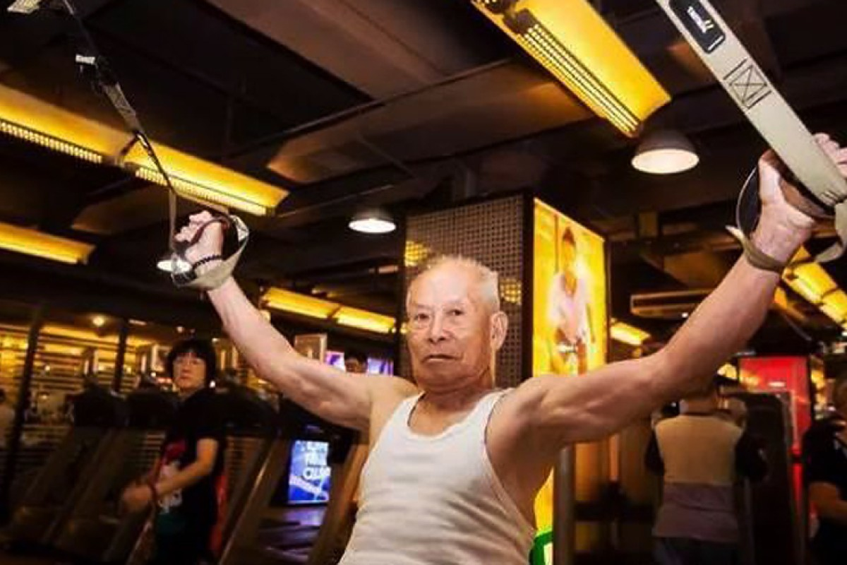 50 And Still Pumping Porn pumping iron … at 93: chinese grandpa puts youngsters to