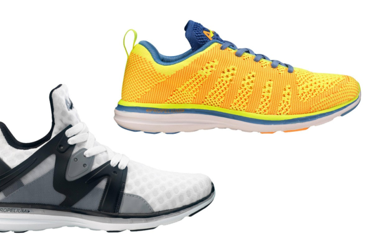 4b2e95000f12 American footwear label Athletic Propulsion Labs was founded by identical  twins Adam and Ryan Goldston in 2009. Keen sportsmen