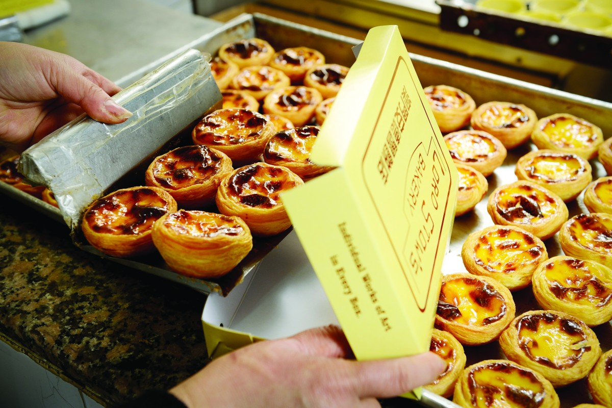 Macau's most edible icon the Portuguese egg tart.