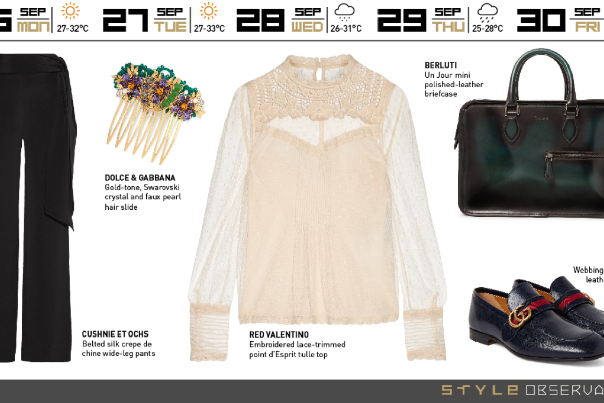 ecfd0356a Every week is fashion week with Red Valentino, Dolce & Gabbana and Gucci