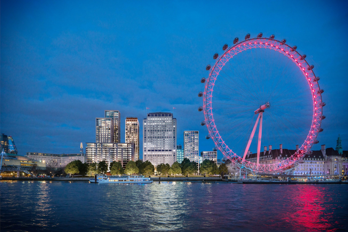 Eight Casson Square: riverside living in the gaze of the London Eye