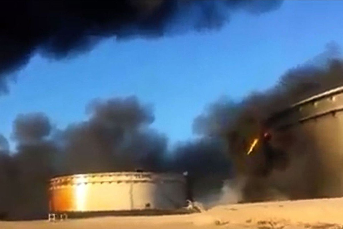 Fires rage at Libyan oil ports after Islamic State attacks