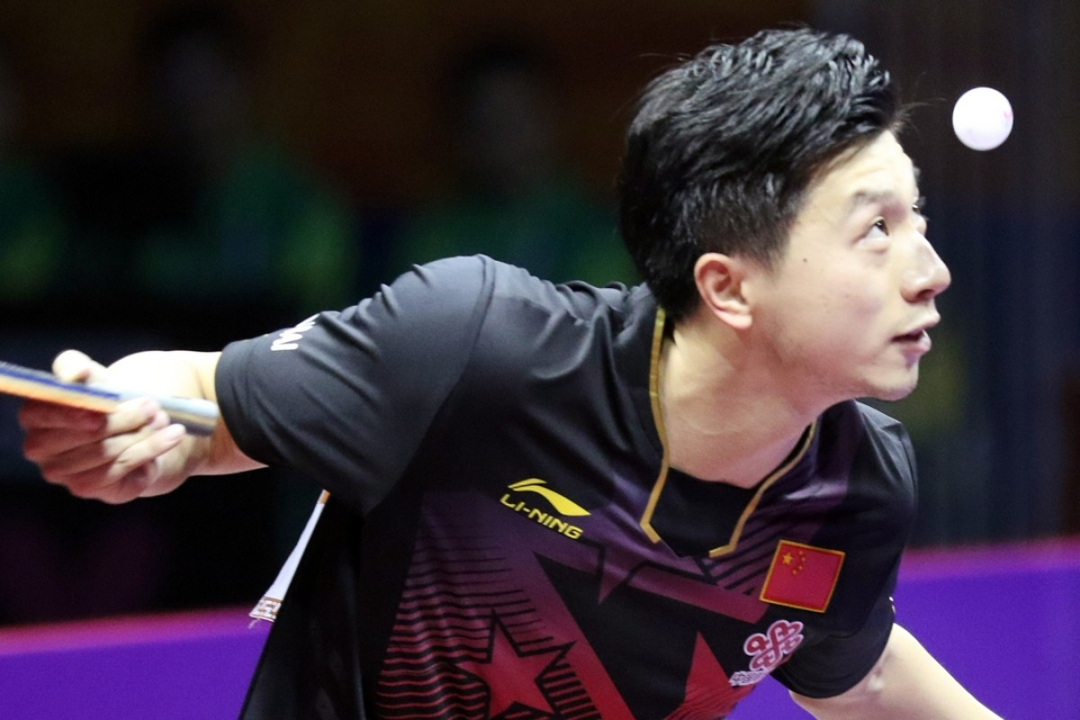 Marvelous Chinas Ma Long The World No 1 In Table Tennis Aims To Home Remodeling Inspirations Genioncuboardxyz