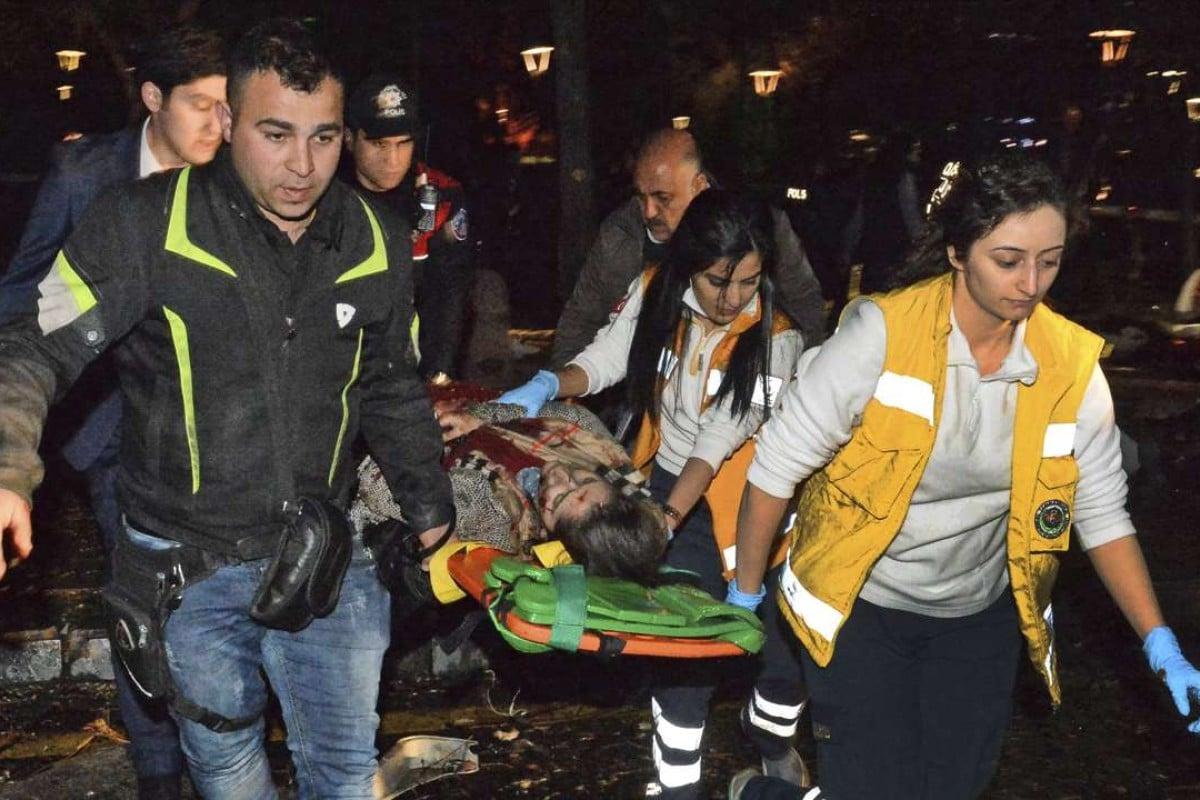 Massive car bomb kills 34 in Turkish capital, as suicide