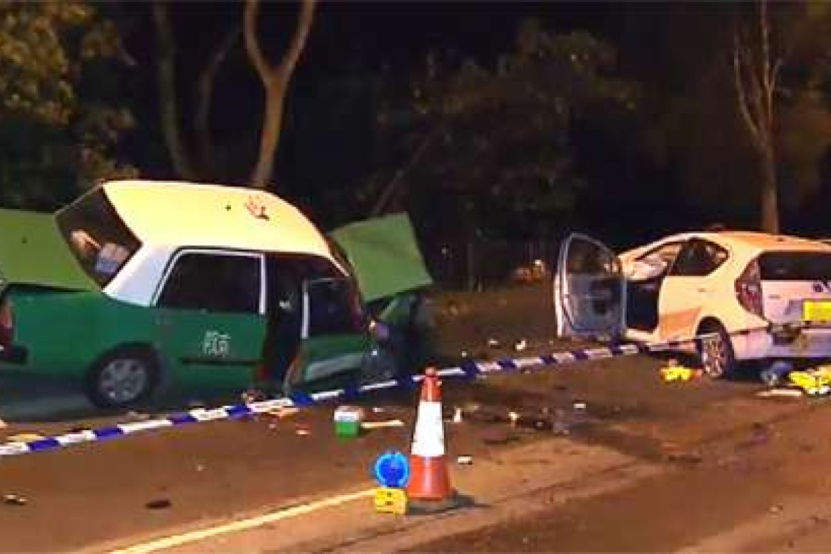 Two in critical condition as head-on crash kills Hong Kong