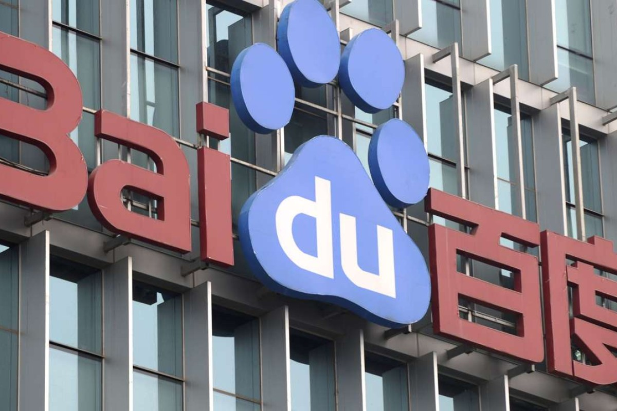 Baidu's US-traded shares drop nearly 8 per cent after China