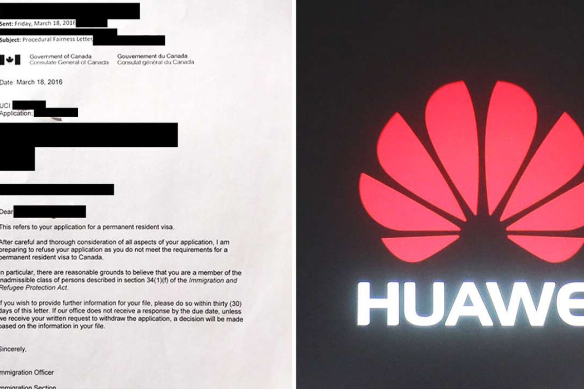 Canada cites espionage risk from two Huawei employees