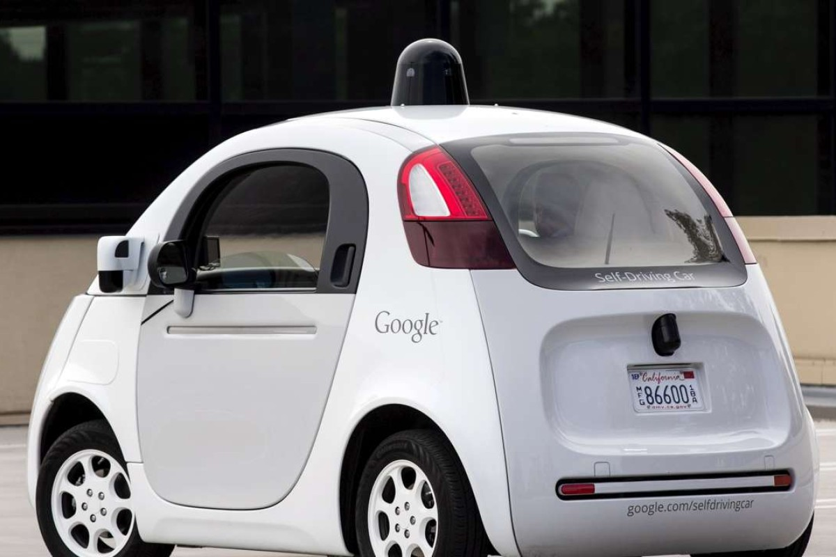 A Prototype Self Driving Google Electric Car They Are Being Programmed To Toot Their
