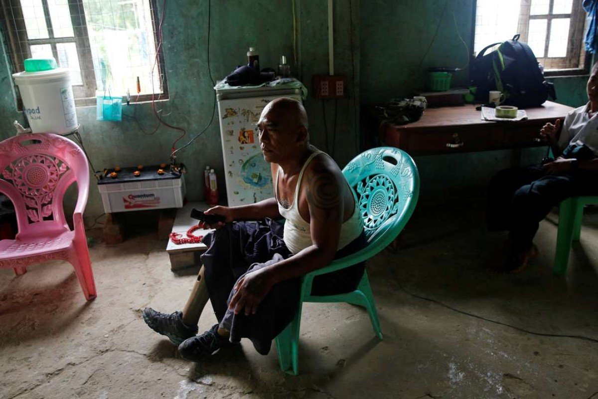 Why Myanmar's disabled war veterans are still begging or