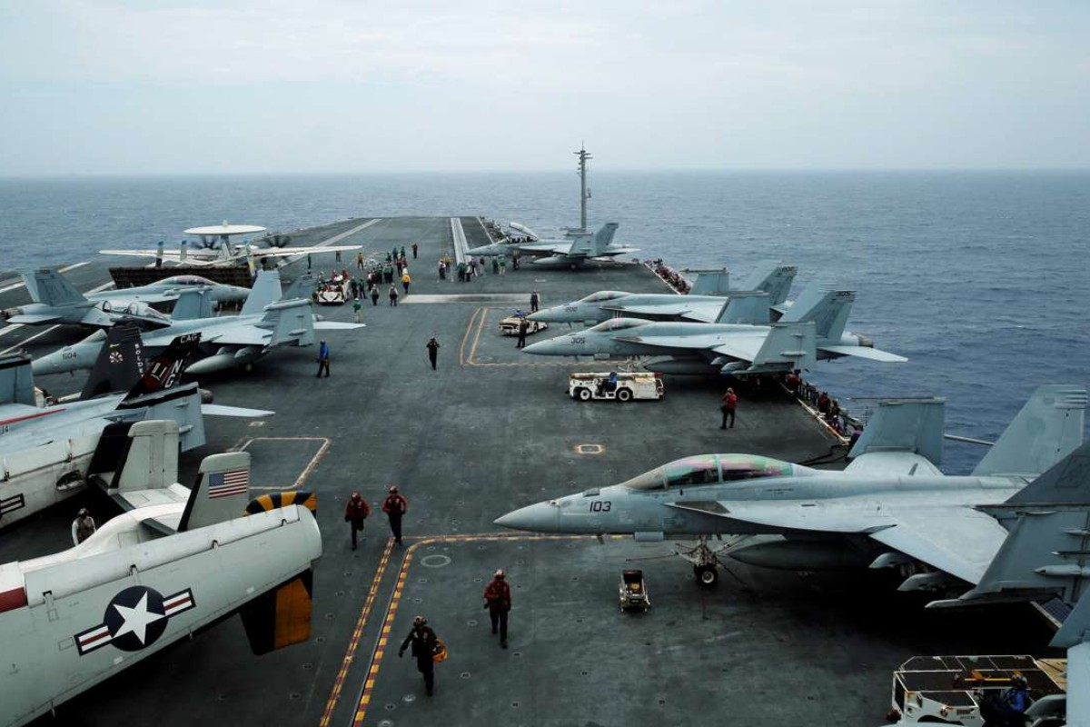 US aircraft carriers deployed in East Asia to help 'deter